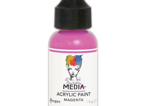 DINA WAKLEY - Acrylic Paint - Magenta