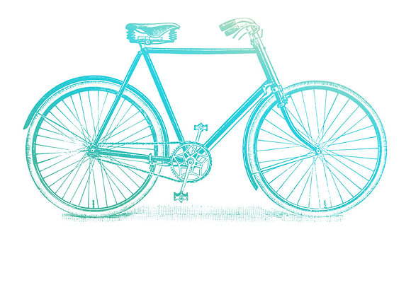 COUTURE CREATIONS - Mini Stamp - Bicycle
