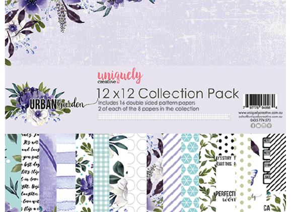 UNIQUELY CREATIVE - Paper Pack - Urban Garden