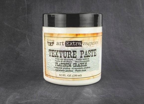 PRIMA - Crackle Texture Paste - Platinum