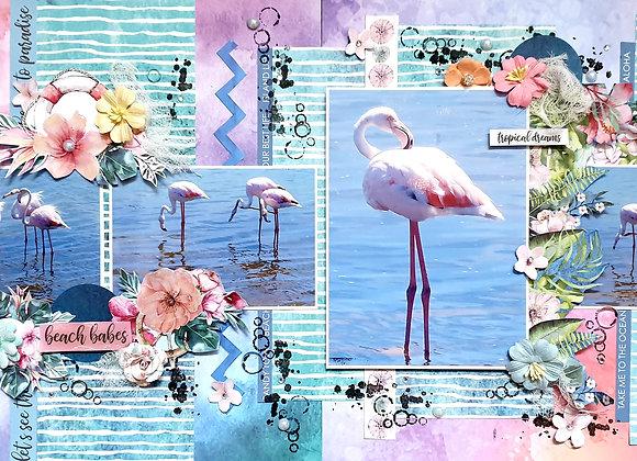 SCRAPBOOKING KIT - Linda King - Tropical Dreams