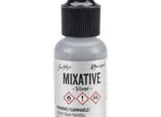 Alcohol Ink - Metallic Mixative - Silver