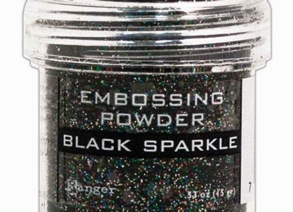 RANGER Embossing Powder - Black Sparkle