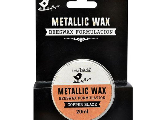 LITTLE BIRDIE - Metallic Wax - Copper Blaze