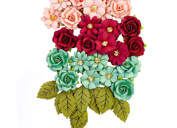 PRIMA - Flowers - Pretty Mosaic Amazonite