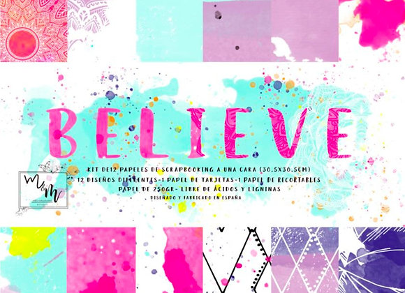 MISS MAMAMINT - Paper Pad - Believe