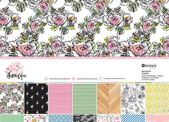 ROSIES STUDIO - Paper Pack - Arabesque