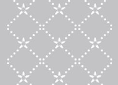 FABSCRAPS - Stencil - Diamond Dot