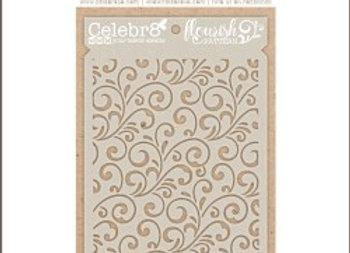 CELEBR8 - Stencil - Flourish