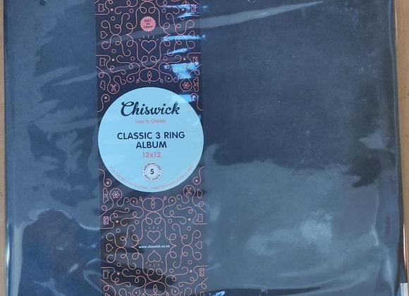 CHISWICK - 3 Ring Album - Black Grunge