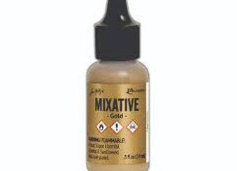 Alcohol Ink - Metallic Mixative - Gold