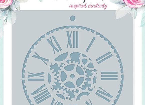 PENELOPE DEE - Stencil - Clock