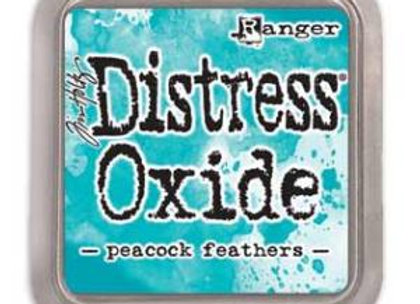 DISTRESS OXIDE - Ink Pad - Peacock Feathers