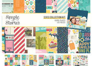 SIMPLE STORIES - Collection Kit - Going Places
