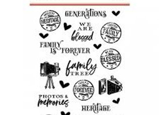 SIMPLE STORIES - Stamps - Ancestry