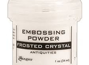 RANGER Embossing Powder - Frosted Crystal