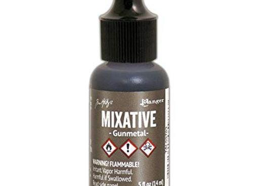 Alcohol Ink - Metallic Mixative - Gunmetal