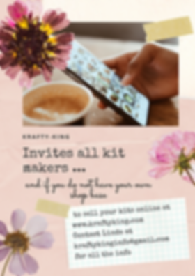 Pink Floral Modern Scrapbook Infographic