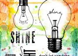 VISIBLE ART - Stamp - Shining Bright