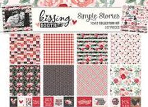 SIMPLE STORIES - Collection Kit - Kissing Booth