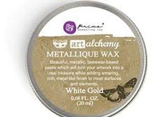 PRIMA - Antique Brilliance Wax - White Gold