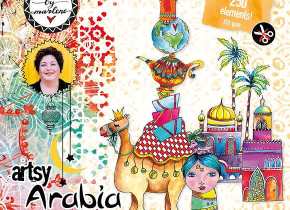 ART BY MARLENE - Die-cut Book - Artsy Arabia No 1