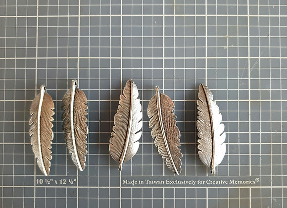 KRAFTY-KING - Metal Finding - Feathers