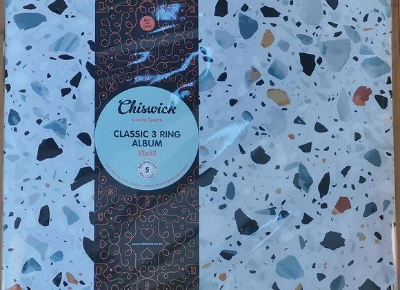 CHISWICK - 3 Ring Album - Terrazzo
