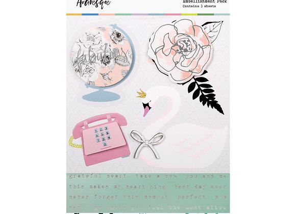 ROSIES STUDIO - Layered Sticker - Arabesque