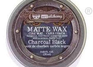 PRIMA - Finnabair Matte Wax Paste - Charcoal Black