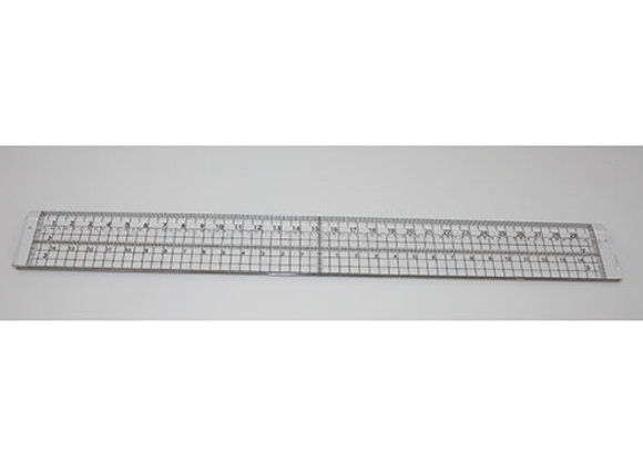 K-CRAFT - 30cm Ruler with stitching holes