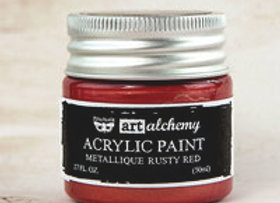 PRIMA - Metallique Paint - Rusty Red