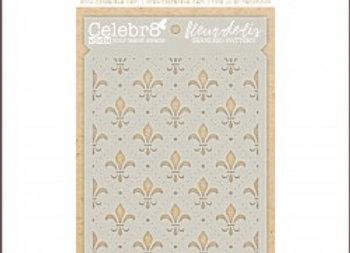 CELEBR8 - Stencil - Fleur