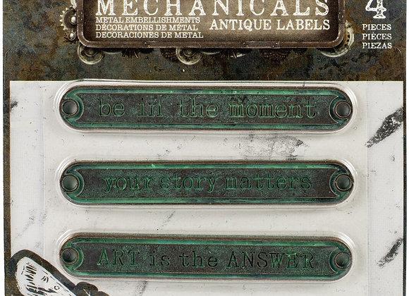 PRIMA - Mechanicals - Vintage Labels