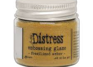 DISTRESS Embossing Glaze - Fossilised Amber
