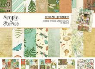 SIMPLE STORIES - Collection Kit - Great Escape