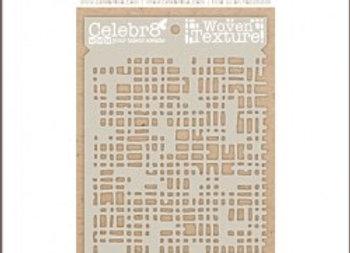 CELEBR8 - Stencil - Woven Texture