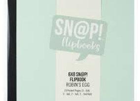 SIMPLE STORIES - Sn@p Flipbooks 6x8 - Robin's Egg