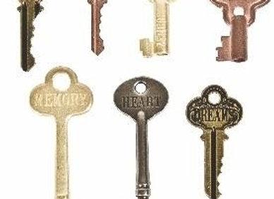 TIM HOLTZ - Embellishment - Word Keys