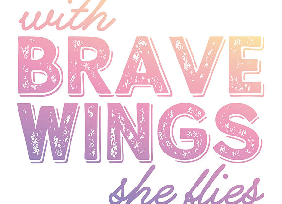 COUTURE CREATIONS - Mini Stamp - Brave Wings
