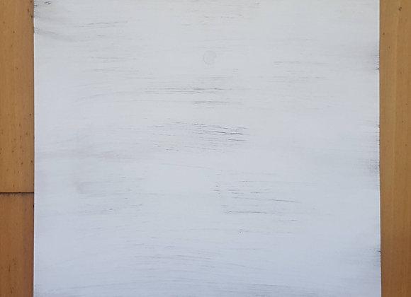 TICKLED PINK Single Frame - Shabby white