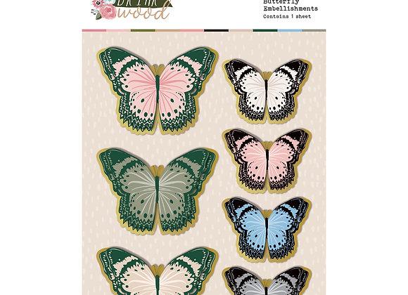 ROSIES STUDIO - Butterflies - Briar Wood