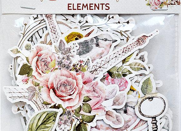 LITTLE BIRDIE - Ephemera - Shabby Chic Bouquet