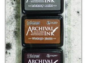 RANGER Archival Ink - Mini Kit #3