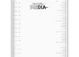 "DINA WAKLEY - Media Stamping Block - 5 x 7"""