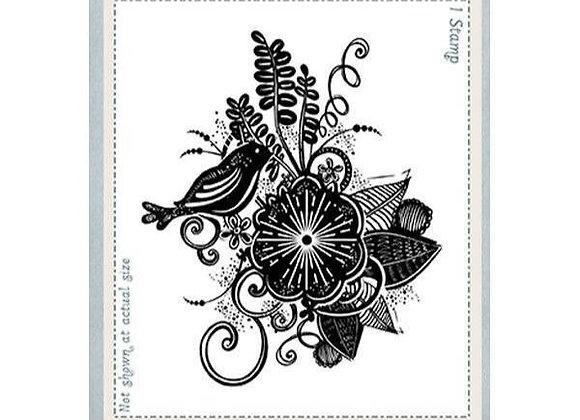 CREATIVE EXPRESSIONS - Stamp - Bohemian Flourish