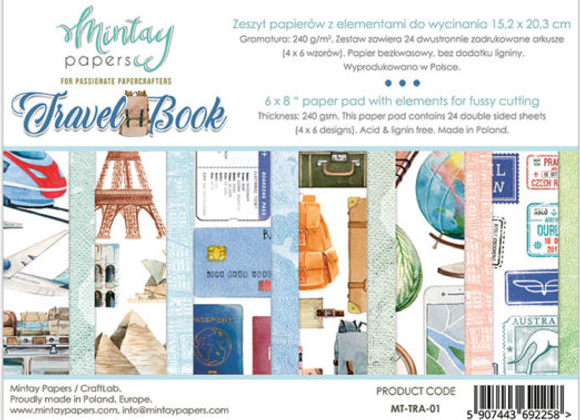 MINTAY - 6x8 Paper Pad - Travel Book