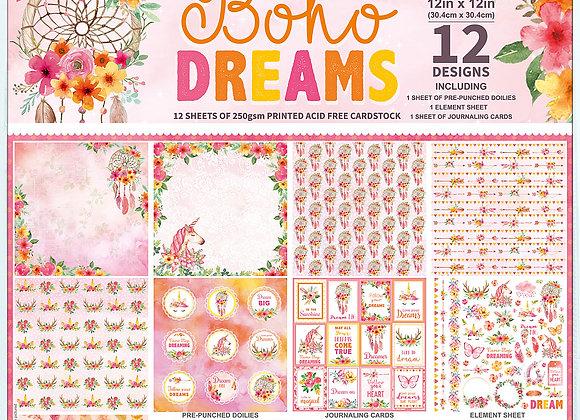 LITTLE BIRDIE - Paper Pad - Boho Dreams