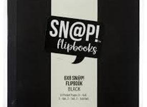 SIMPLE STORIES - Sn@p Flipbooks 6x8 - Black