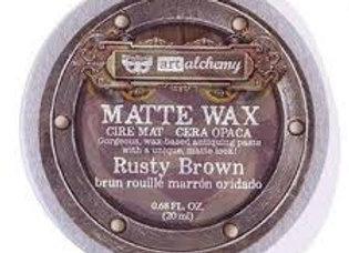 PRIMA - Finnabair Matte Wax Paste - Rusty Brown